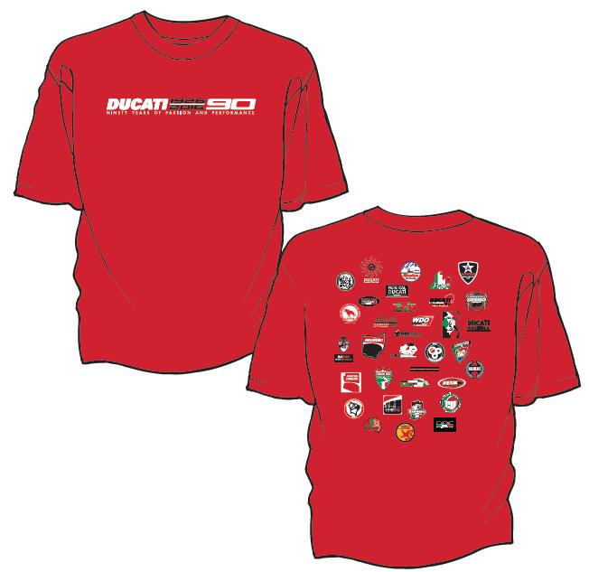 Ducati 90th Anniversary DOC Collaboration T-Shirt